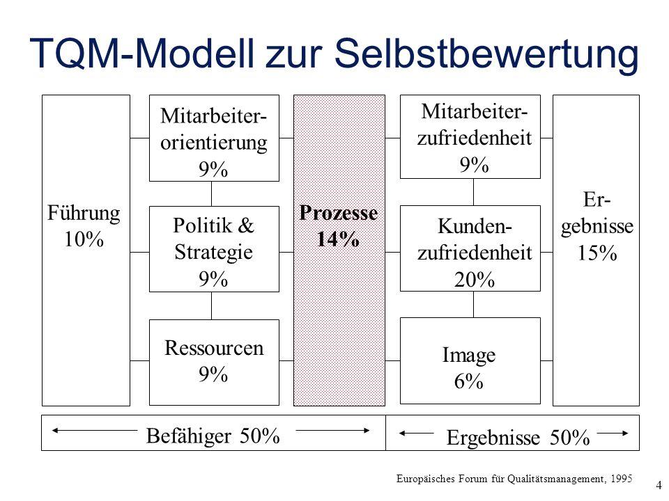 TQM-Modell zur Selbstbewertung