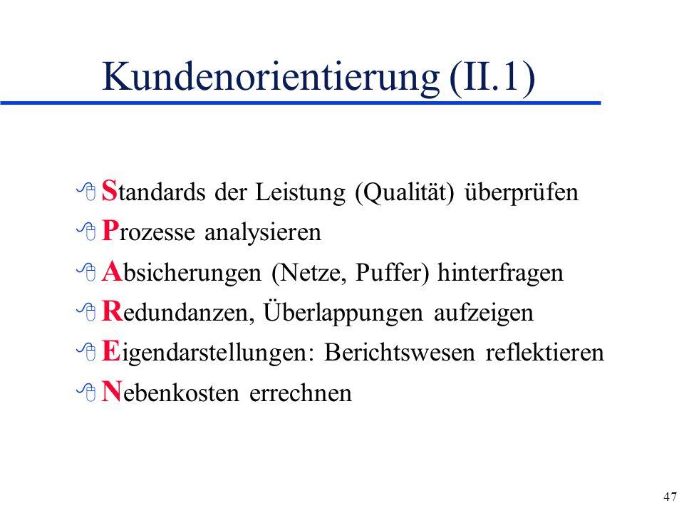 Kundenorientierung (II.1)