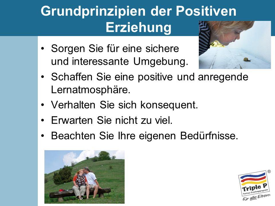 Grundprinzipien der Positiven Erziehung