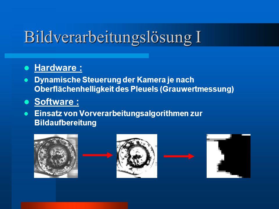 Bildverarbeitungslösung I
