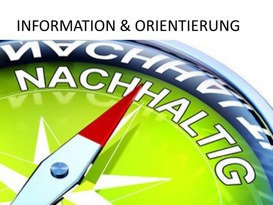 Information & orientierung