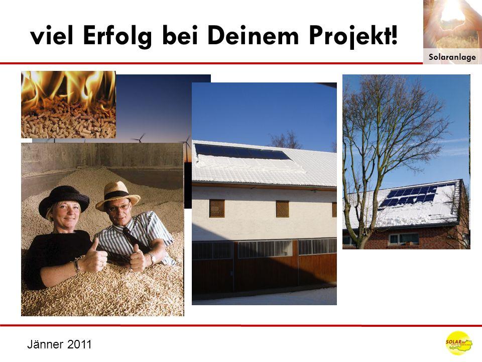 viel Erfolg bei Deinem Projekt!