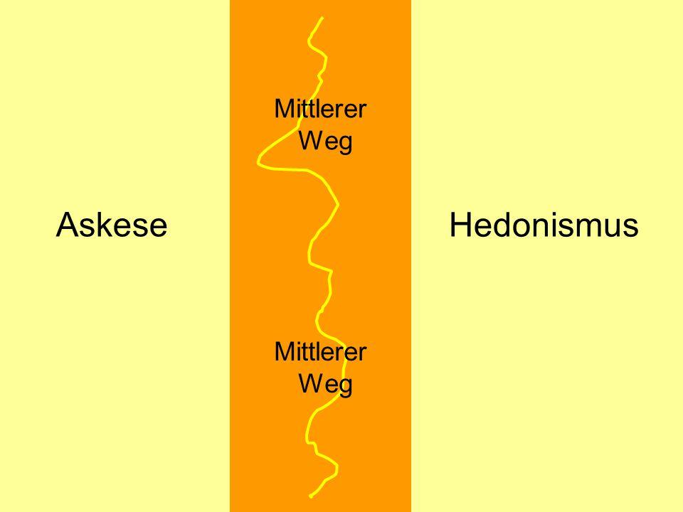 Askese Hedonismus Mittlerer Weg Mittlerer Weg © Dr. Kai Romhardt