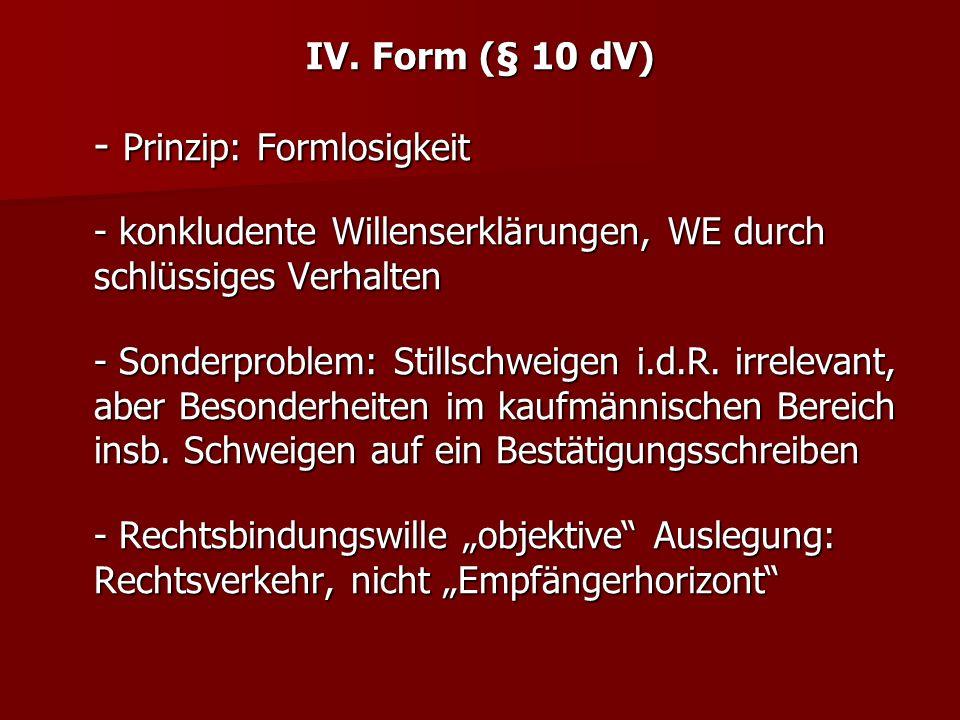 - Prinzip: Formlosigkeit