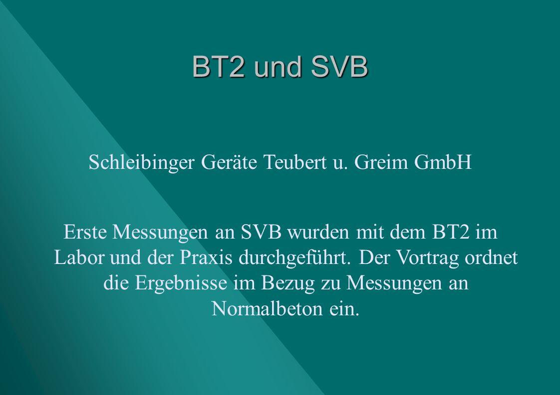 Schleibinger Geräte Teubert u. Greim GmbH