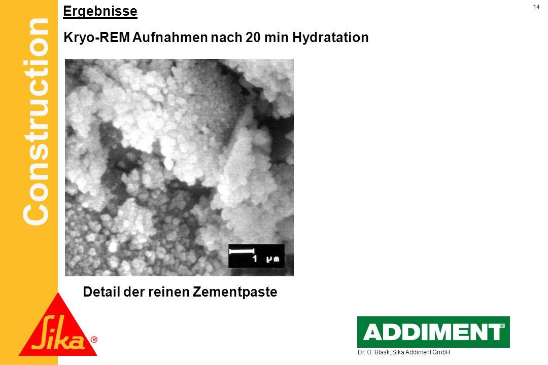 Kryo-REM Aufnahmen nach 20 min Hydratation
