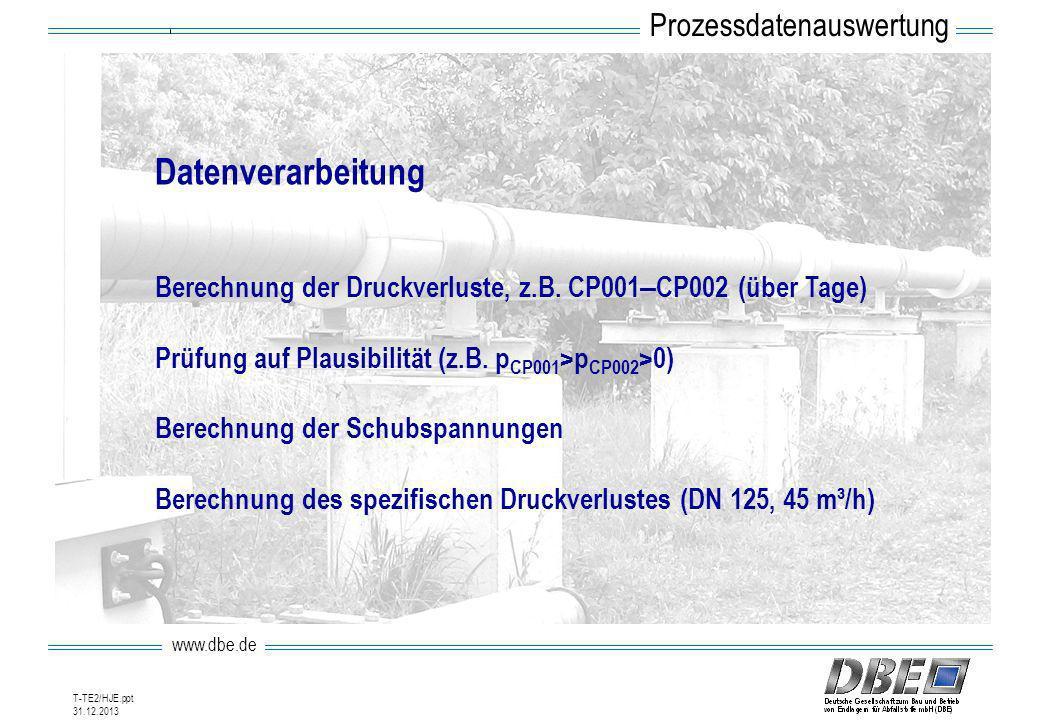 Datenverarbeitung Prozessdatenauswertung