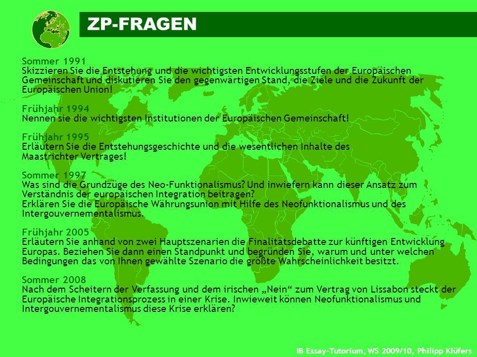 ZP-FRAGEN Sommer 1991.