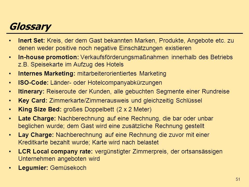 Glossary Inert Set: Kreis, der dem Gast bekannten Marken, Produkte, Angebote etc. zu denen weder positive noch negative Einschätzungen existieren.