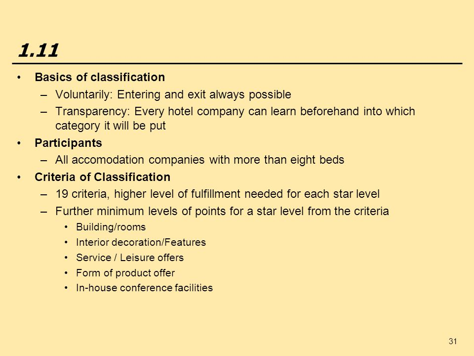 1.11 Basics of classification