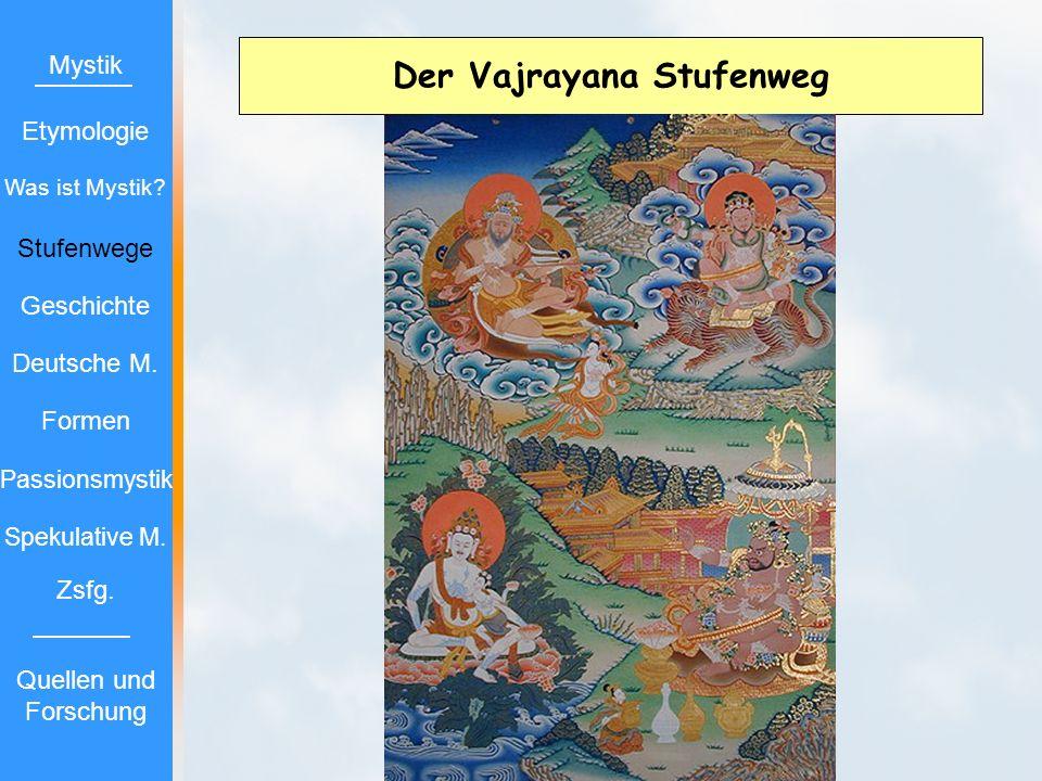 Der Vajrayana Stufenweg