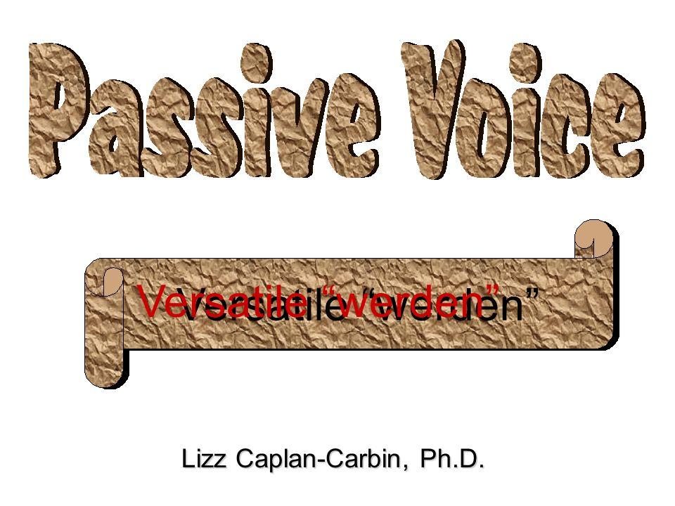 Versatile werden Lizz Caplan-Carbin, Ph.D. Versatile werden
