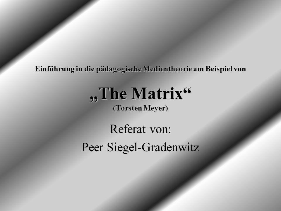 Referat von: Peer Siegel-Gradenwitz