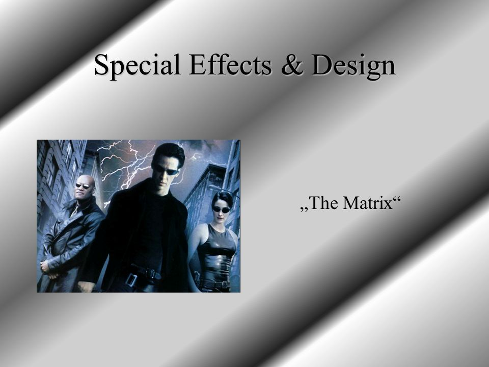 Special Effects & Design