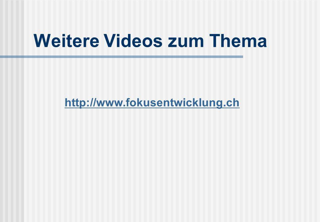 Weitere Videos zum Thema