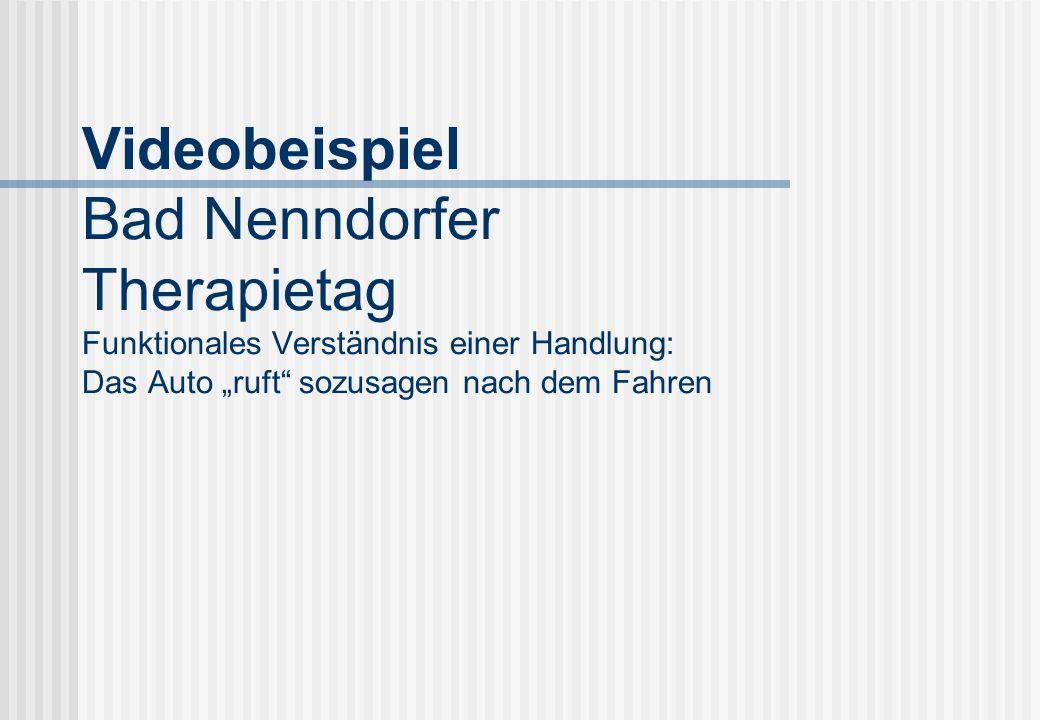 DVD-Beispiel aus den Bad-Nenndorfer Therapietagen (B
