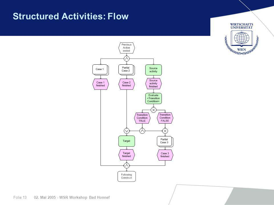 Structured Activities: Flow