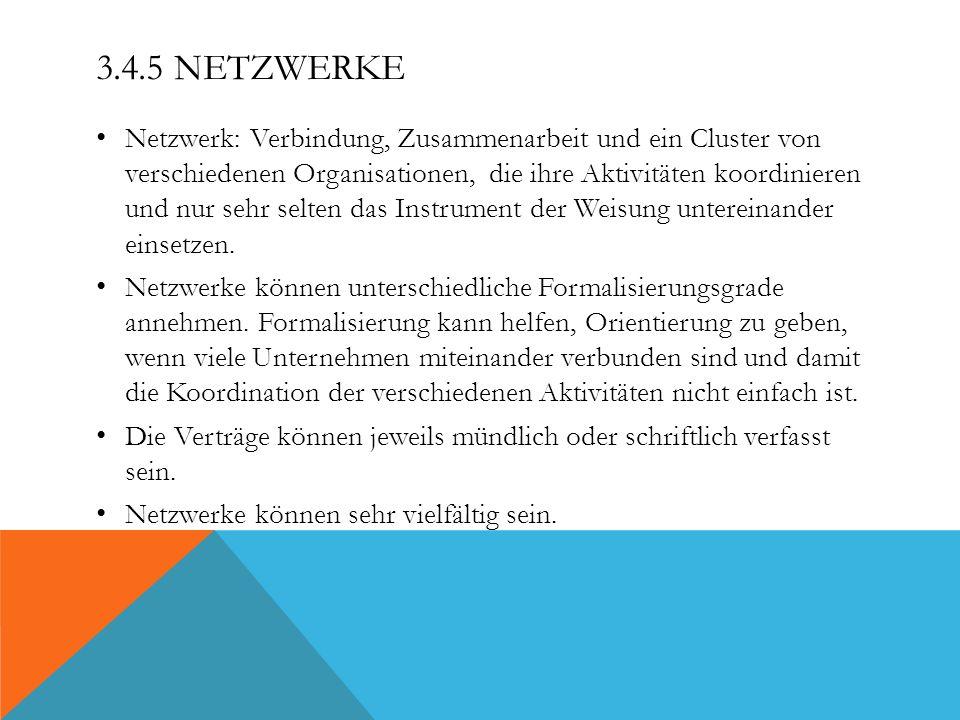 3.4.5 Netzwerke