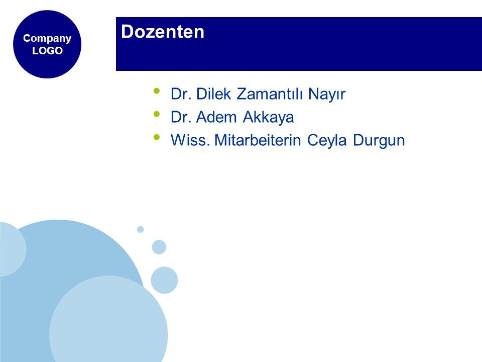 Dozenten Dr. Dilek Zamantılı Nayır Dr. Adem Akkaya