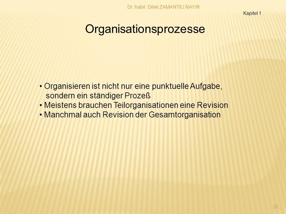 Organisationsprozesse