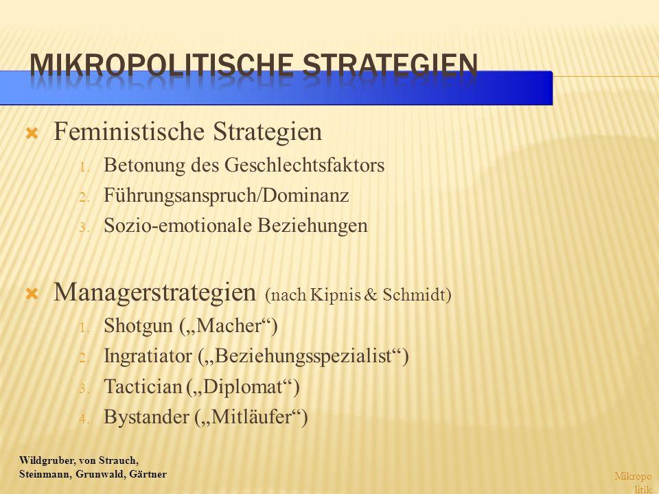 Mikropolitische Strategien