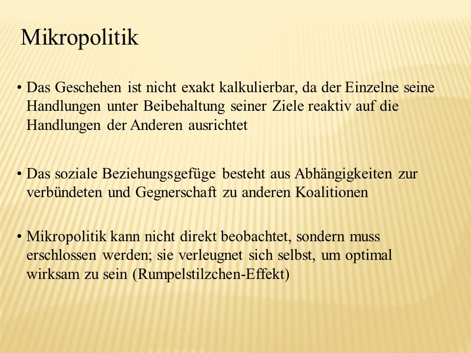 Mikropolitik