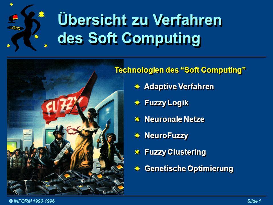 Übersicht zu Verfahren des Soft Computing
