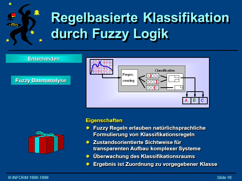 Regelbasierte Klassifikation durch Fuzzy Logik