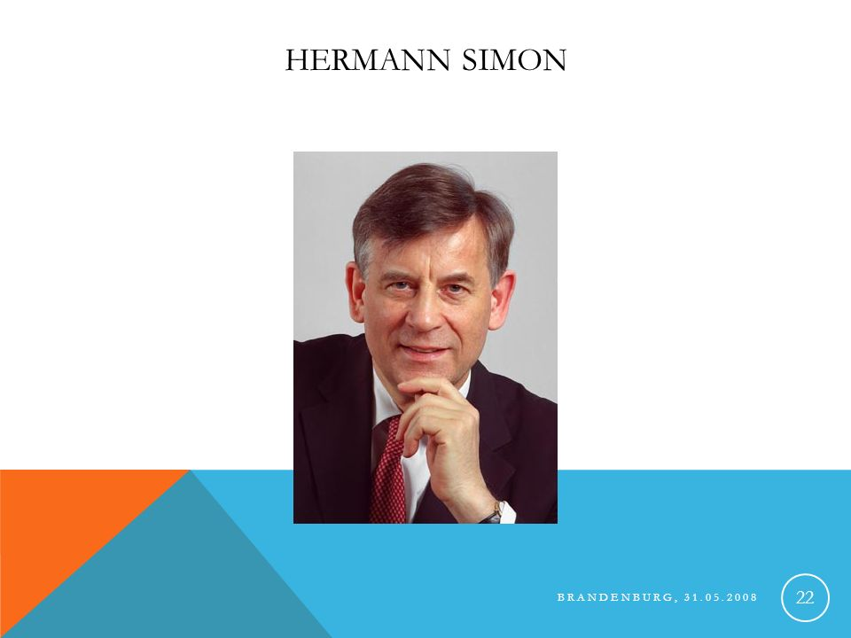 Hermann Simon Brandenburg, 31.05.2008