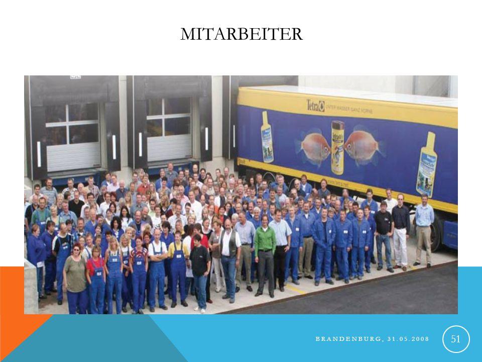 Mitarbeiter Brandenburg, 31.05.2008