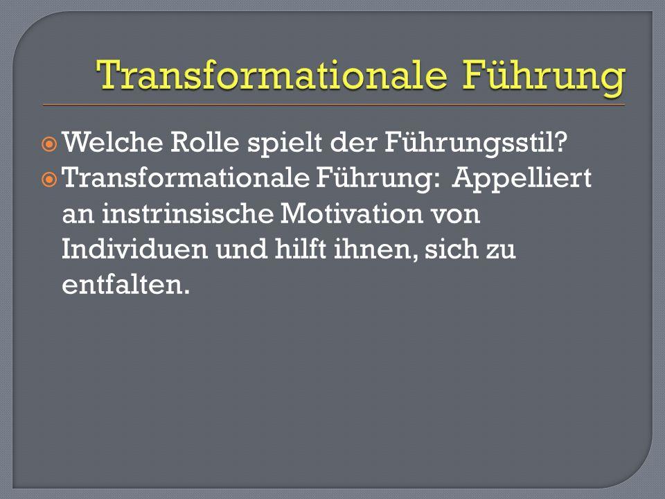 Transformationale Führung