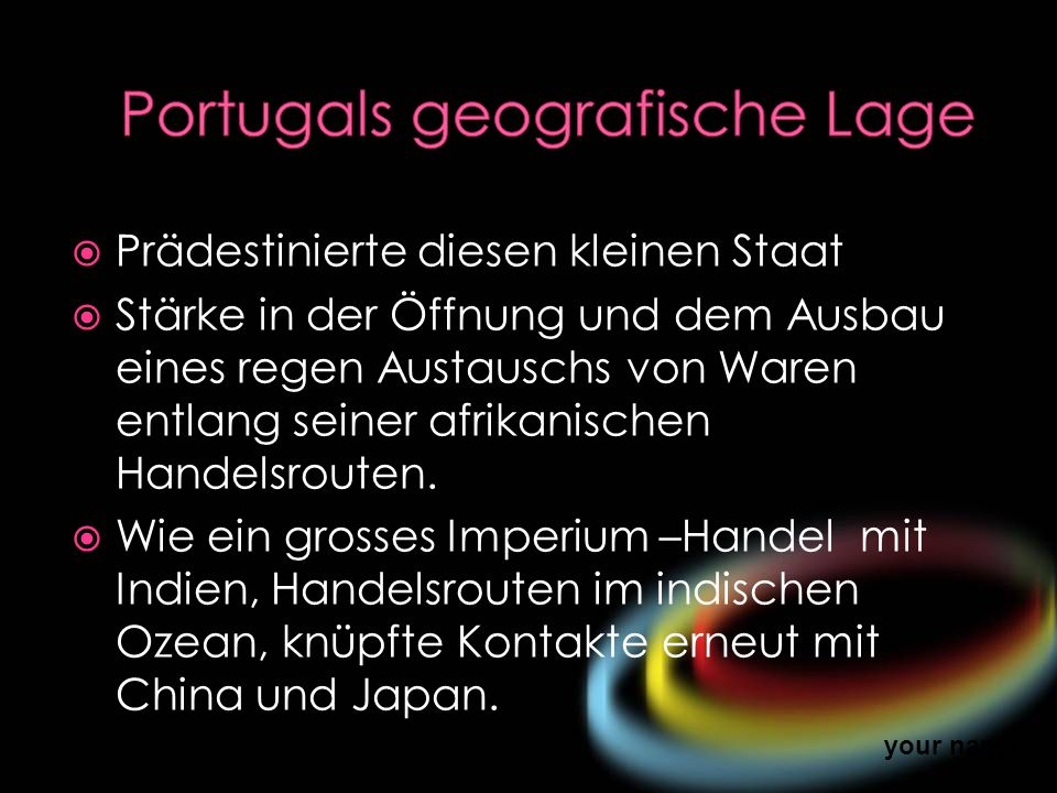 Portugals geografische Lage