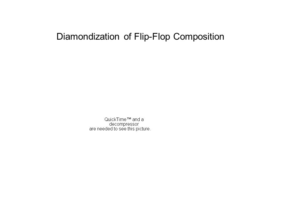 Diamondization of Flip-Flop Composition