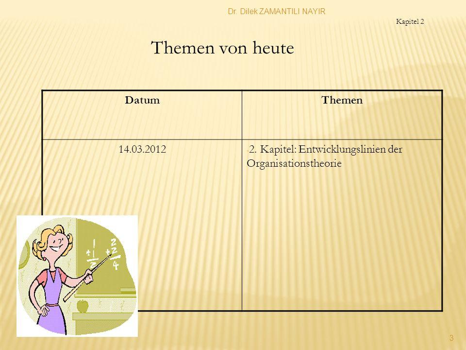 Themen von heute Datum Themen 14.03.2012