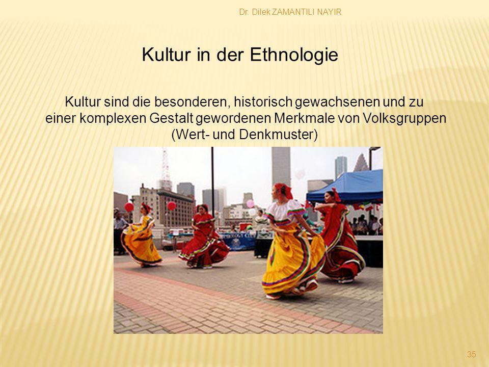 Kultur in der Ethnologie