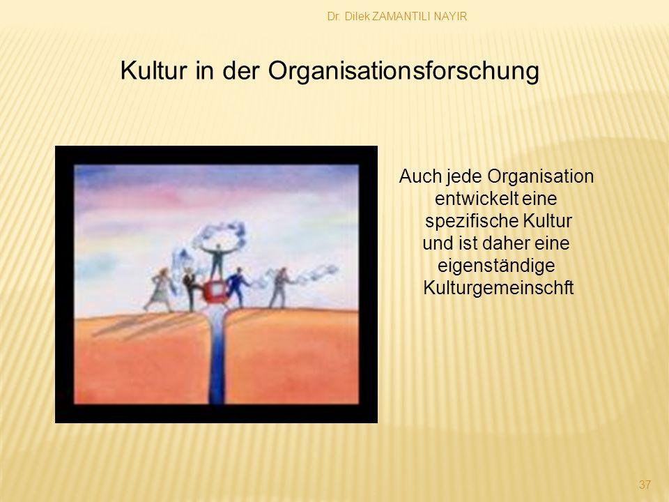Auch jede Organisation