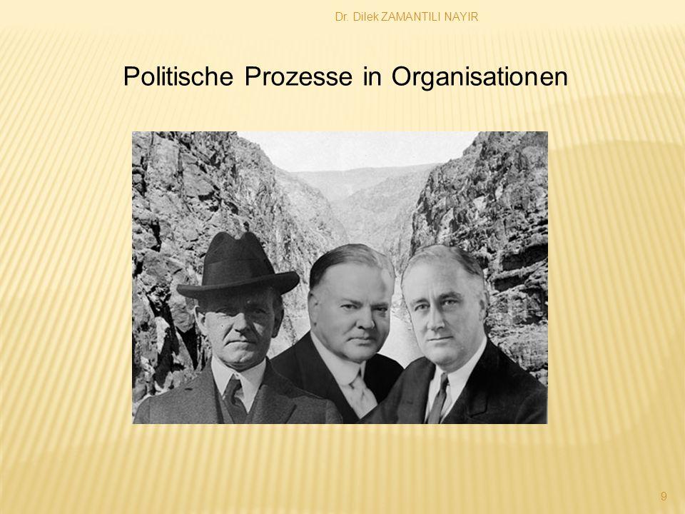 Politische Prozesse in Organisationen