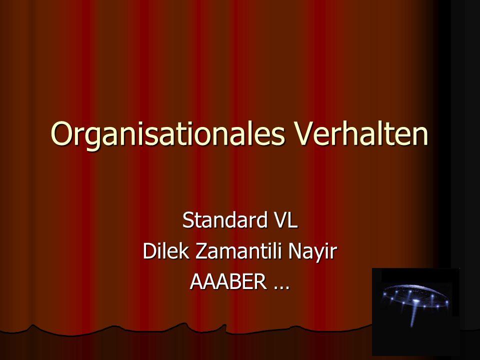 Organisationales Verhalten