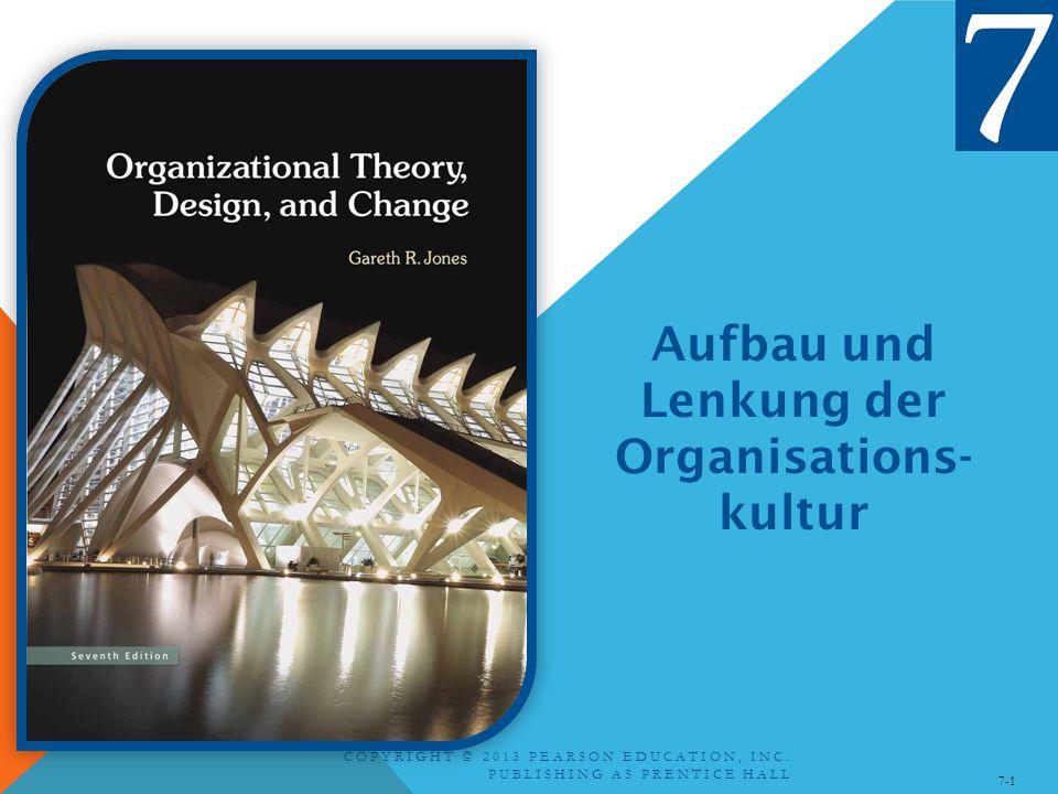 Aufbau und Lenkung der Organisations-kultur