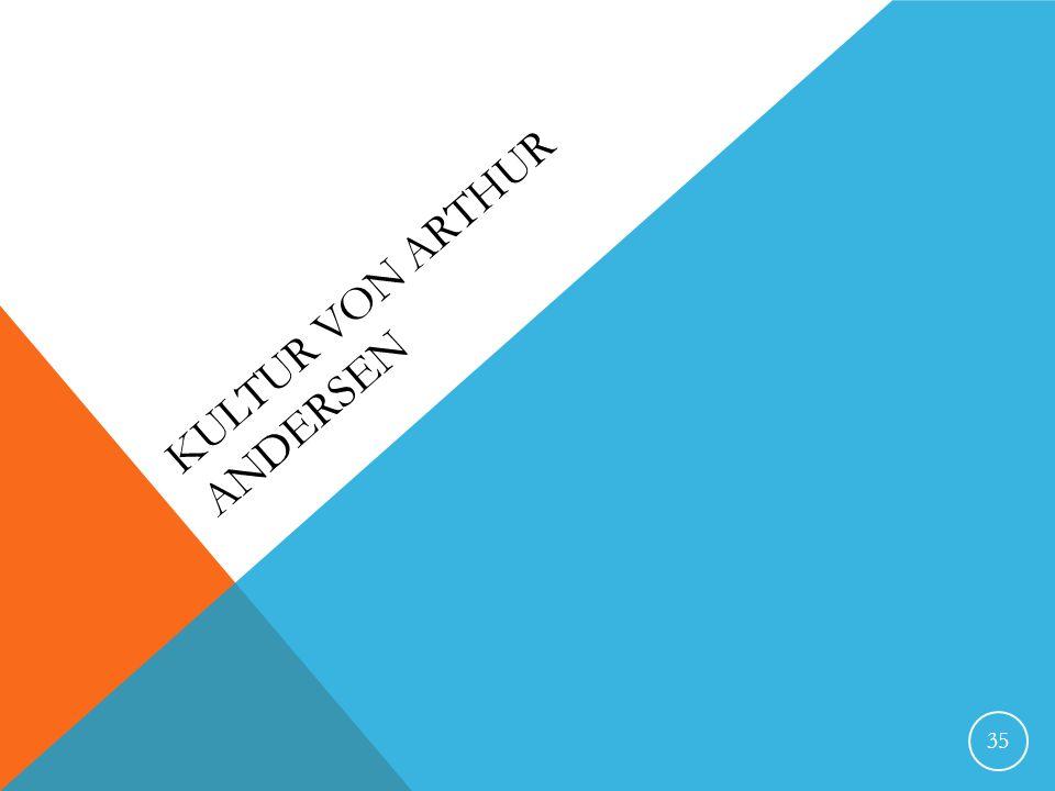 Kultur von Arthur Andersen