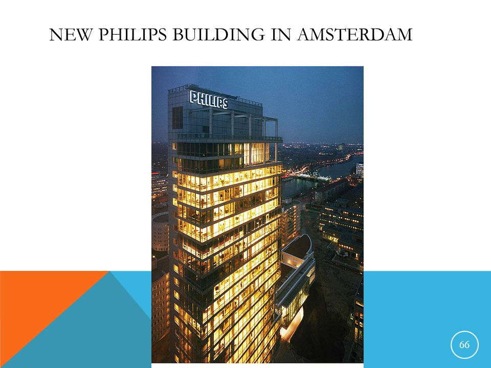 New Philips building in Amsterdam