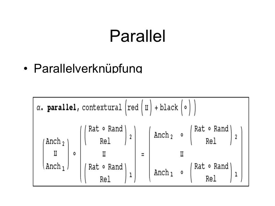 Parallel Parallelverknüpfung