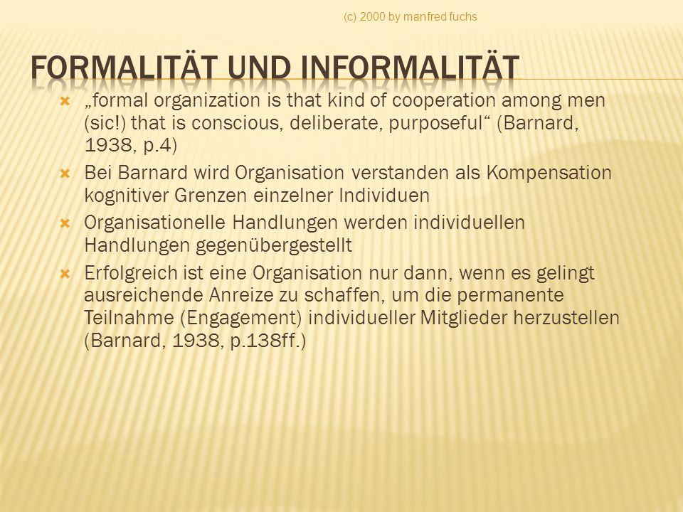 Formalität und Informalität