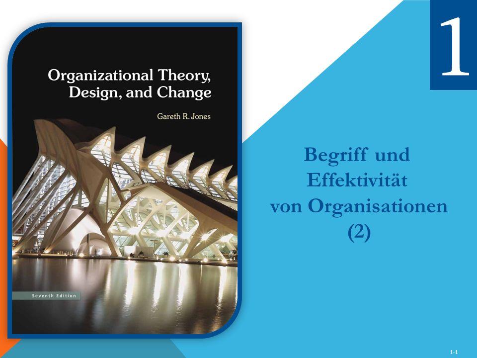 Begriff und Effektivität von Organisationen (2)