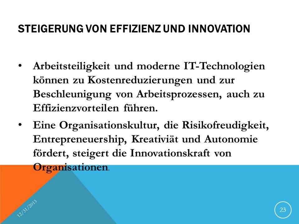 Steigerung von Effizienz und Innovation