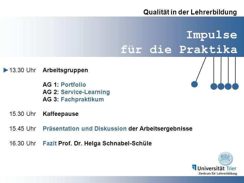 Qualität in der Lehrerbildung
