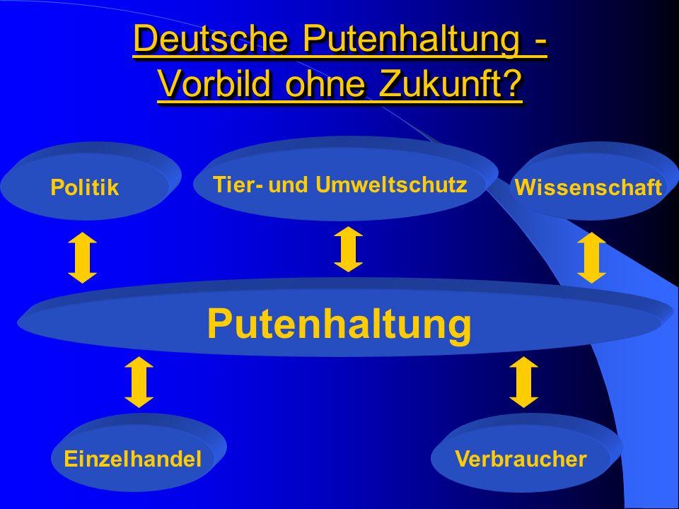 Deutsche Putenhaltung - Vorbild ohne Zukunft