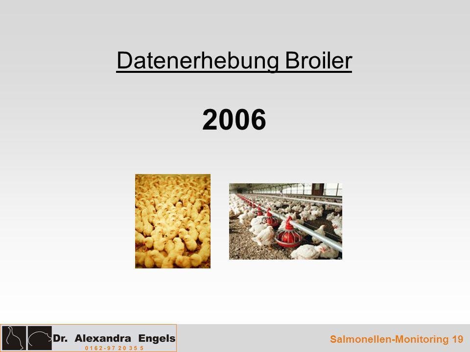Datenerhebung Broiler 2006