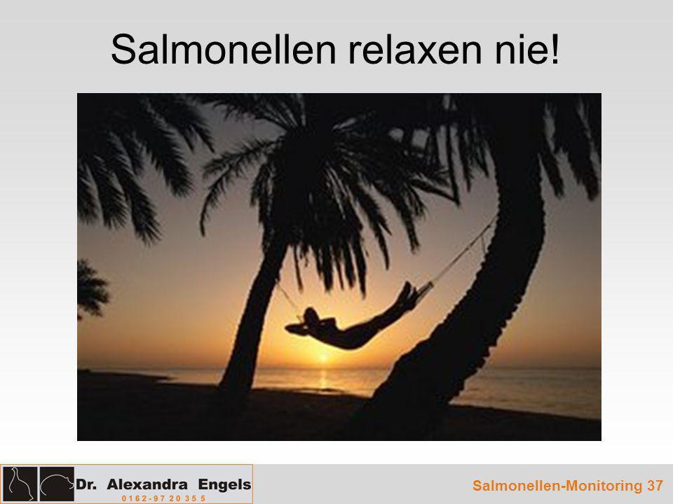 Salmonellen relaxen nie!