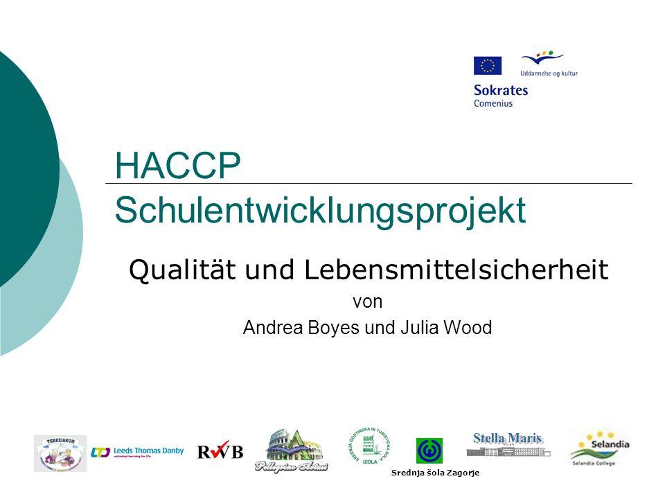 HACCP Schulentwicklungsprojekt